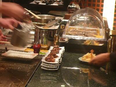 出来立ての天ぷら&ステーキ