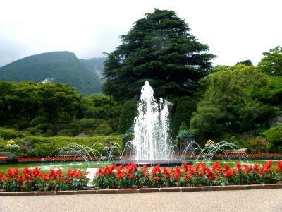 強羅公園 噴水.jpg