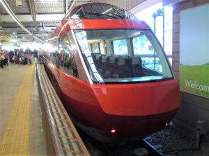 ひと駅だけの、特急列車の旅♪|ブログ|箱根の旅館ならホテルおくゆもと